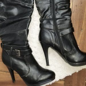 Style & Co. Sexy Knee Boots 5 inch Heel